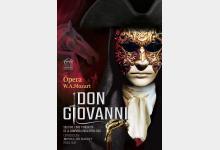Cartel ópera Don Giovanni de OPERA 2001
