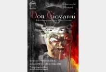 Cartel ópera Don Giovanni de OPERA 2001