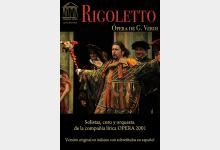 Cartel Rigoletto OPERA 2001