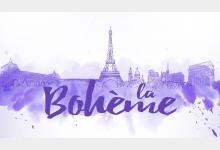 Logo La Boheme - Opera 2001